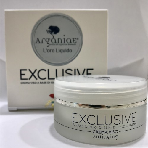 EXCLUSIVE CREMA VISO A BASE DI OLIO DI FICO D'INDIA BIO - ANTIAGING